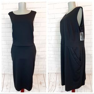 Alfani • Black A-Line Dress